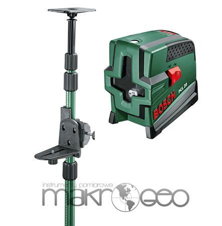 Laser krzy owy bosch pcl 20 set statyw rozporowy bosch for Laser bosch pcl 20